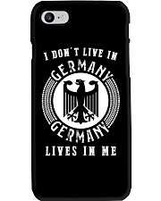 GERMANY LIVES IN ME Phone Case thumbnail