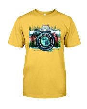MICHIGAN AND I THINK TO MYSELF Classic T-Shirt front