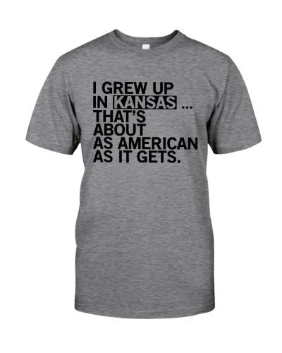 I GREW UP IN KANSAS