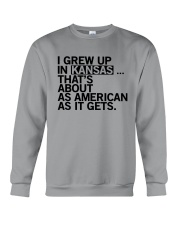 I GREW UP IN KANSAS Crewneck Sweatshirt tile