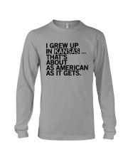 I GREW UP IN KANSAS Long Sleeve Tee tile
