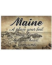 MAINE PLACE YOUR HEART REMAINS 24x16 Poster front