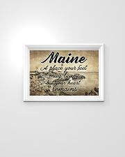MAINE PLACE YOUR HEART REMAINS 24x16 Poster poster-landscape-24x16-lifestyle-02