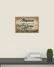 MAINE PLACE YOUR HEART REMAINS 24x16 Poster poster-landscape-24x16-lifestyle-09