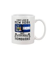 LIVE IN NEW YORK BEGAN IN HONDURAS Mug thumbnail