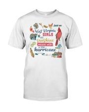 WEST VIRGINIA GIRLS SUNSHINE MIXED HURRICANE Classic T-Shirt thumbnail
