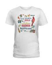 WEST VIRGINIA GIRLS SUNSHINE MIXED HURRICANE Ladies T-Shirt thumbnail