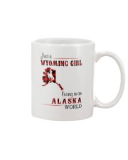 WYOMING GIRL LIVING IN ALASKA WORLD Mug thumbnail