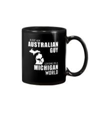 JUST AN AUSTRALIAN GUY LIVING IN MICHIGAN WORLD Mug thumbnail