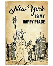 NEW YORK IS MY HAPPY PLACE 11x17 Poster front