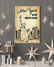 NEW YORK IS MY HAPPY PLACE 11x17 Poster lifestyle-holiday-poster-1