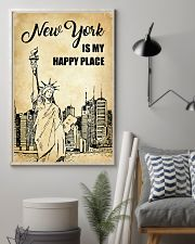 NEW YORK IS MY HAPPY PLACE 11x17 Poster lifestyle-poster-1