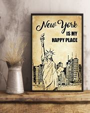 NEW YORK IS MY HAPPY PLACE 11x17 Poster lifestyle-poster-3