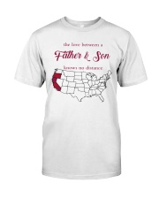 CALIFORNIA OREGON THE LOVE FATHER AND SON Classic T-Shirt thumbnail