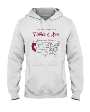 CALIFORNIA OREGON THE LOVE FATHER AND SON Hooded Sweatshirt thumbnail
