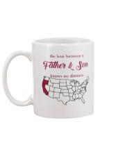 CALIFORNIA OREGON THE LOVE FATHER AND SON Mug back