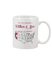 CALIFORNIA OREGON THE LOVE FATHER AND SON Mug front