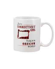 CONNECTICUT GIRL LIVING IN OREGON WORLD Mug thumbnail