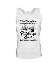 PITTSBURGH GIRL I DIDN'T NOT HAVE THE ABILITY Unisex Tank thumbnail