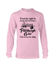 PITTSBURGH GIRL I DIDN'T NOT HAVE THE ABILITY Long Sleeve Tee thumbnail