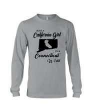 JUST A CALIFORNIA GIRL IN A CONNECTICUT WORLD Long Sleeve Tee thumbnail