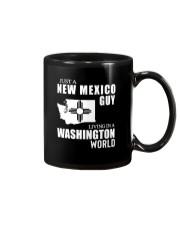 JUST A NEW MEXICO GUY LIVING IN WASHINGTON WORLD Mug thumbnail