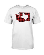 TEXAS IN WASHINGTON WORLD Classic T-Shirt front