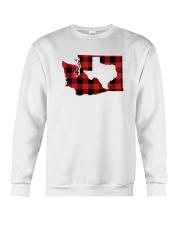TEXAS IN WASHINGTON WORLD Crewneck Sweatshirt thumbnail