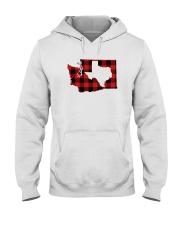 TEXAS IN WASHINGTON WORLD Hooded Sweatshirt thumbnail