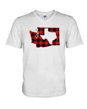 TEXAS IN WASHINGTON WORLD V-Neck T-Shirt thumbnail