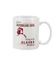 MICHIGAN GIRL LIVING IN ALASKA WORLD Mug thumbnail