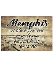 MEMPHIS A PLACE YOUR HEART REMAINS 24x16 Poster front
