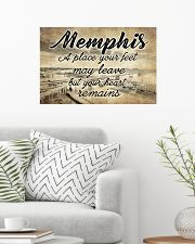 MEMPHIS A PLACE YOUR HEART REMAINS 24x16 Poster poster-landscape-24x16-lifestyle-01