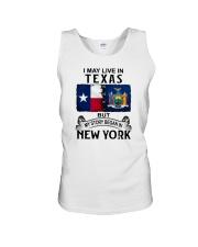 LIVE IN TEXAS BEGAN IN NEW YORK Unisex Tank thumbnail