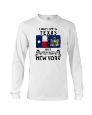 LIVE IN TEXAS BEGAN IN NEW YORK Long Sleeve Tee thumbnail