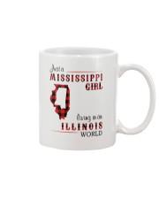 MISSISSIPPI GIRL LIVING IN ILLINOIS WORLD Mug thumbnail