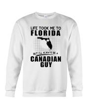 CANADIAN GUY LIFE TOOK TO FLORIDA Crewneck Sweatshirt thumbnail