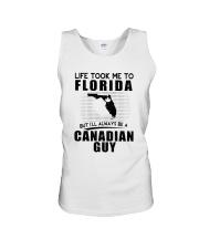 CANADIAN GUY LIFE TOOK TO FLORIDA Unisex Tank thumbnail