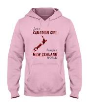 CANADIAN GIRL LIVING IN NEW ZEALAND WORLD Hooded Sweatshirt thumbnail
