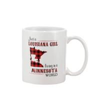 LOUISIANA GIRL LIVING IN MINNESOTA WORLD Mug thumbnail