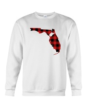 WEST VIRGINIA IN FLORIDA WORLD Crewneck Sweatshirt thumbnail