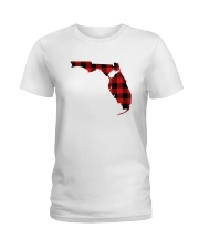 WEST VIRGINIA IN FLORIDA WORLD Ladies T-Shirt thumbnail