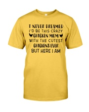THIS CRAZY CHICKEN MOM Classic T-Shirt front