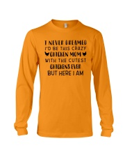 THIS CRAZY CHICKEN MOM Long Sleeve Tee thumbnail