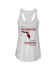 SALVADORAN GIRL LIVING IN FLORIDA WORLD Ladies Flowy Tank thumbnail