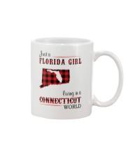 FLORIDA GIRL LIVING IN CONNECTICUT WORLD Mug thumbnail