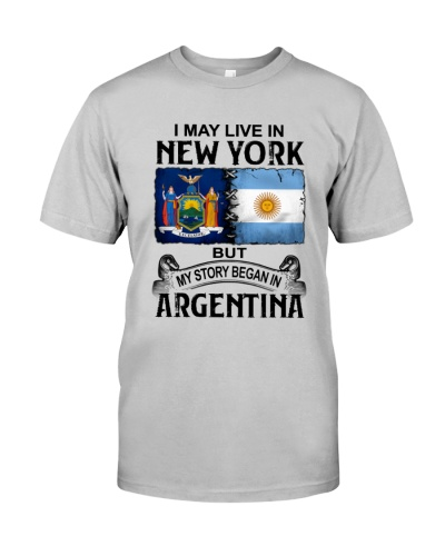 LIVE IN NEW YORK BEGAN IN ARGENTINA