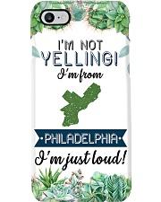 I'M NOT YELLING I'M FROM PHILADELPHIA Phone Case i-phone-8-case