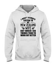 LISTEN TO MY NEW ZEALAND WIFE Hooded Sweatshirt thumbnail