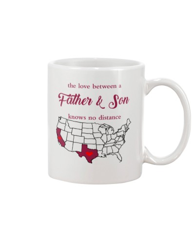 CALIFORNIA TEXAS THE LOVE FATHER AND SON